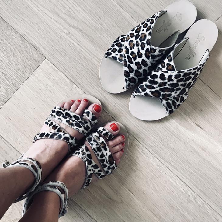 Sandales Bea et Bella Semefdjian