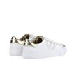No Name - Sneakers - Arcade Side Nappa Python White Gold - Photo