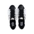 No Name - Sneakers - Arcade Side Nappa Python White Black - Photo
