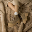 No Name - Boots - Kross Low Boots Suede Taupe - Photo
