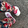 Adidas - Baskets - Stan Smith M20326 Blanc/Rouge - Photo