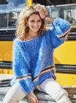 Les Tricots d'O - Sweater - Jeans Blue - Photo