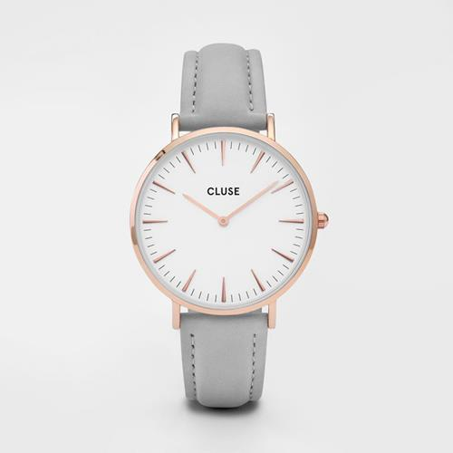 Cluse - Montre Boheme - CL18015 Rose Gold White Grey - Photo 1
