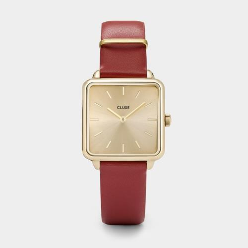 Cluse - Montre La Garçonne - CL60009 Gold/Red - Photo 1