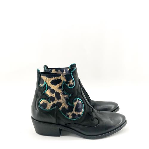 Elena Iachi - Boots - E1888 Nero Blu - Photo 1
