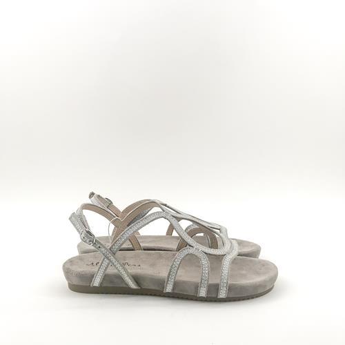 Espagne Pena Strass Brillant Summer Sandales Glitter Alma Argent En UzVMpS