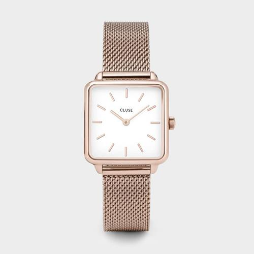 Cluse - Montre La Garçonne - CL60003 Mesh Rose Gold White - Photo 1