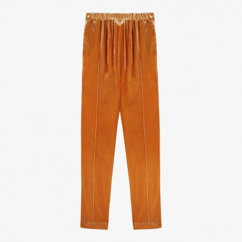 Mes Demoiselles Paris - Pantalon - Belami Ocre - Photo 1