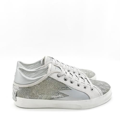 Crime - Sneakers - 25310 Silver  - Photo 1