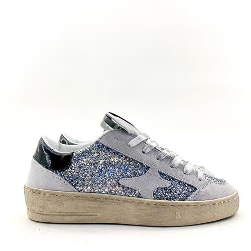 Ama - Sneakers - 1823 Slam Glitter Argent - Photo 1
