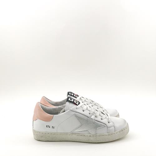 Gio - Sneakers - G874 Rose/Argent - Photo 1
