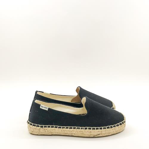 Soludos - Espadrilles - 318 Platform Smoking Black  - Photo 1