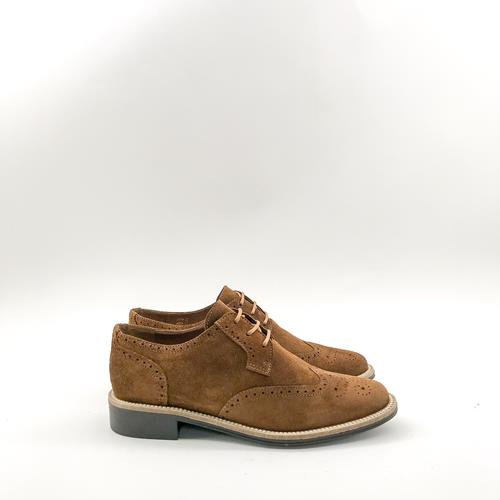 Schmoove - Derbies - Newton Perfo Croûte Vintage Cognac - Photo 1