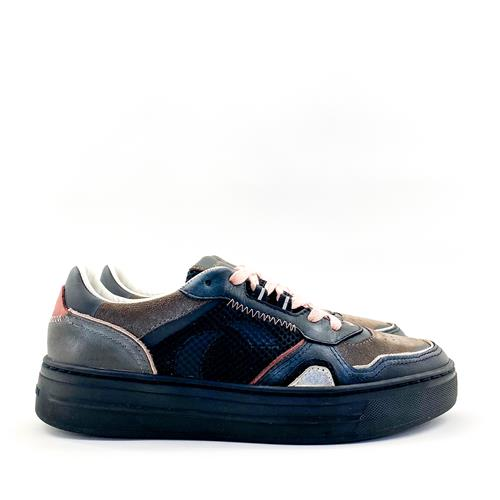 Crime - Sneaker - 25109 Dribble Black - Photo 1