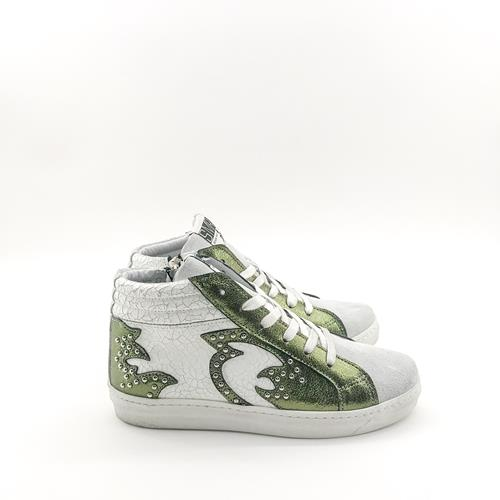 Semerdjian - Sneakers - Queen 444 Vert - Photo 1