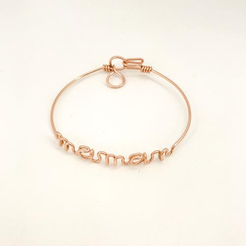 By H - Bracelet - Maman Goldfilled Or Rose  - Photo 1
