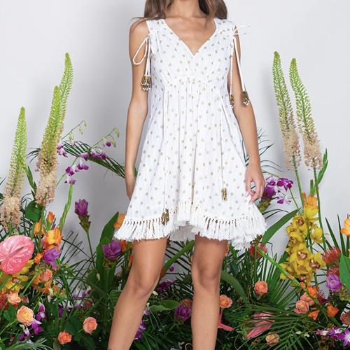 Sundress - Robe - Daby Short Dubai Coconut  - Photo 1