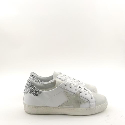 Gio - Sneakers - G352 Glitter Argent - Photo 1