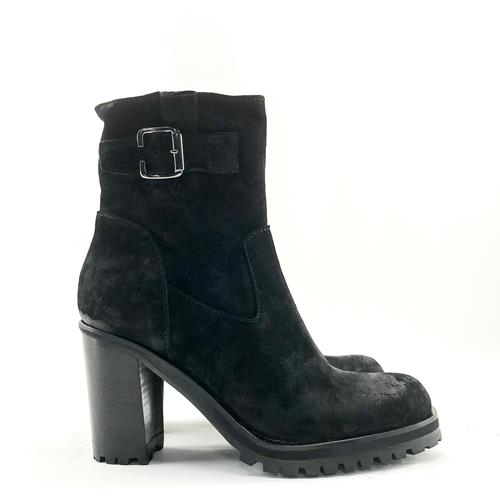 Nimal - Boots - Fizzo Velours Nero - Photo 1