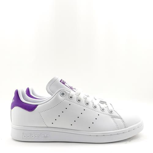 baskets sneakers adidas stan smith iconique violet