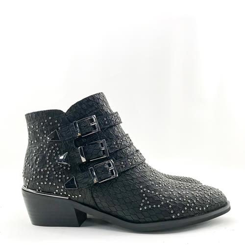 Alma En Pena - Boots - 119251 Black Snake - Photo 1