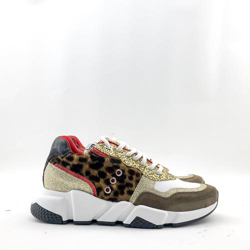 Semerdjian - Sneaker - ER408E1 Leopard Gold - Photo 1