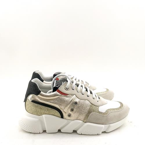 Semerdjian - Sneakers - ER408E1 Blanc Gold - Photo 1