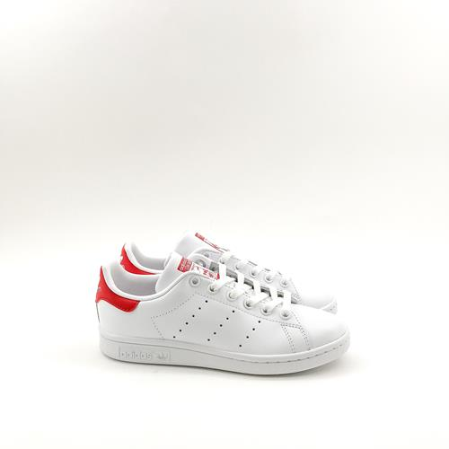 Adidas - Baskets - Stan Smith M20326 Blanc/Rouge - Photo 1