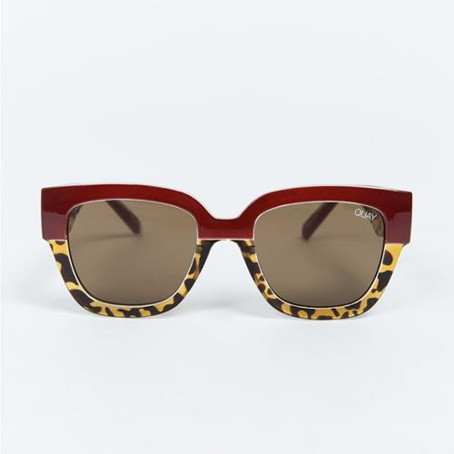 Quay Australia - Lunettes - Don't Stop Red Brown - Photo 1