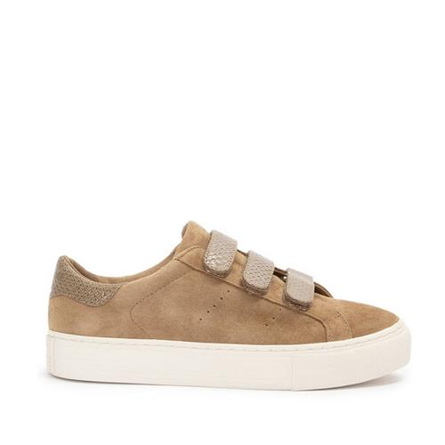 No Name - Sneakers - Arcade Straps Goat Suede Camel - Photo 1