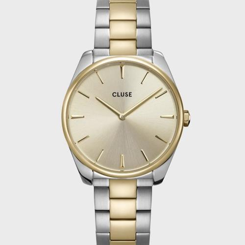 Cluse - Montre - Feroce CW0101212004 Steel Bicolour - Photo 1