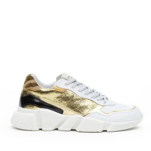 Serafini - Sneakers - Oregon Gold, Orange & White - Photo 1