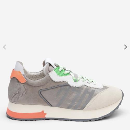 Ash - Sneakers - Tiger Grey & Corail - Photo 1