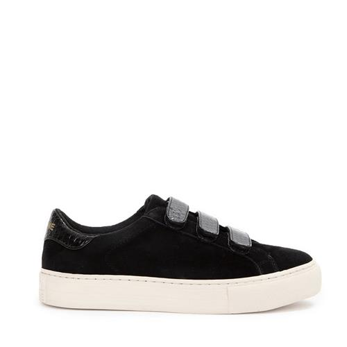 No name - Sneakers - Arcade Straps Goat Suede Black - Photo 1