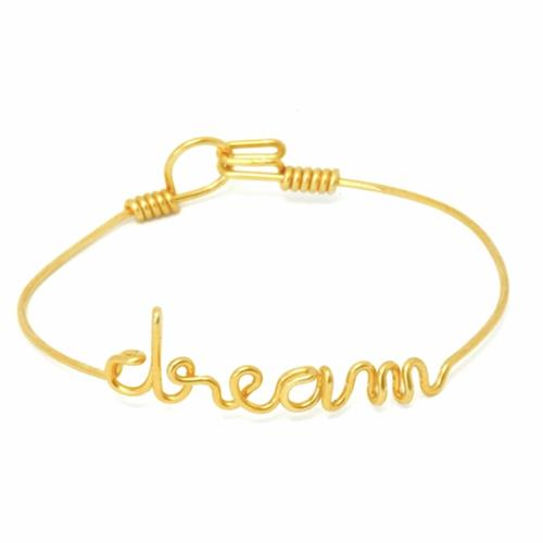 By H - Bracelet - Dream Goldfilled Or Jaune - Photo 1