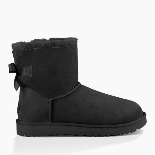 UGG Australia - Snowboots - Mini Bailey Bow Black - Photo 1