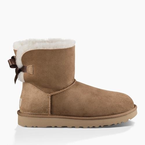 UGG Australia - Snowboots - Mini Bailey Bow Chestnut - Photo 1