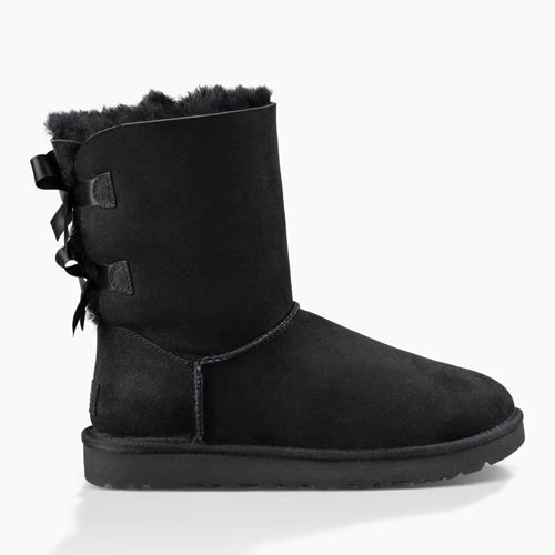 UGG Australia - Snowboots - Bailey Bow Black - Photo 1