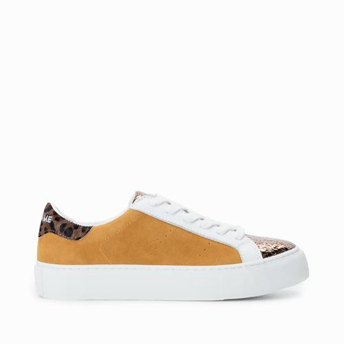 No Name - Sneakers - Arcade Sneaker Java Bronze Safran - Photo 1