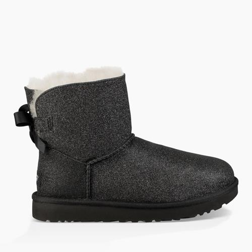 UGG Australia - Snowboots - Mini Bailey Bow Sparkles Black - Photo 1