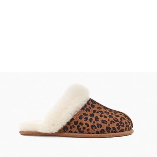 UGG Australia - Chaussons - Scufette Leopard  - Photo 1