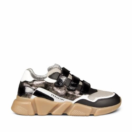 Serafini - Sneakers - Oregon Ivory, White & Black - Photo 1