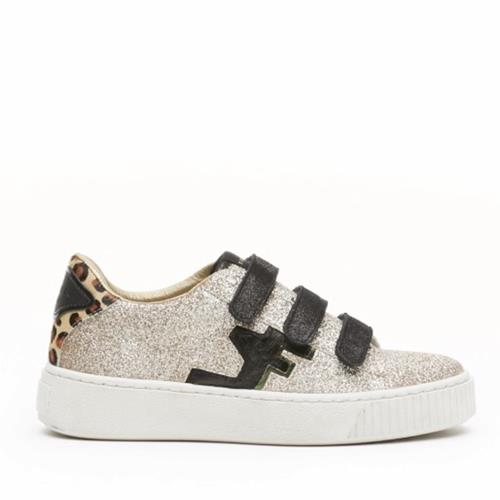 Serafini - Sneakers - Madison Glitter Gold - Photo 1