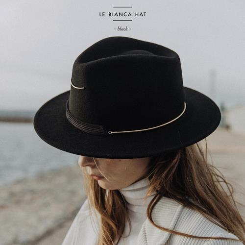 Van Palma - Chapeau - Bianca Black - Photo 1